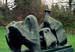 Three Piece Reclining Figure No. 1